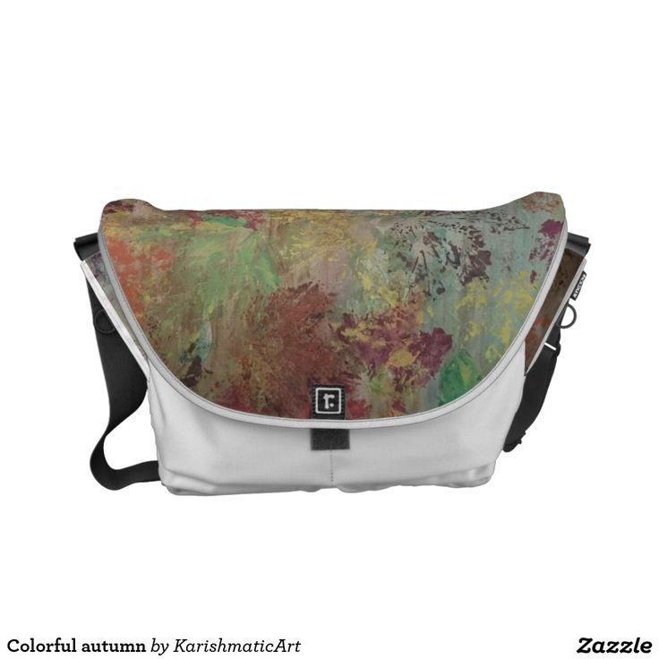 Colorful autumn handbag  #autumn #accessories #bag #handbag #rustic #classic #customized #colorful #mapple