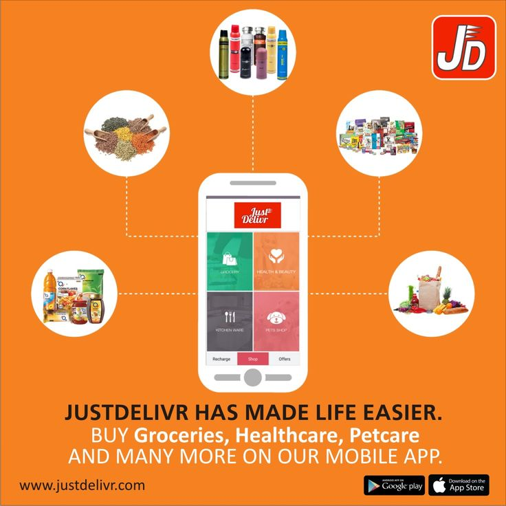 Get the App now @ https://play.google.com/store/apps/details?id=com.era.justdeliver&hl=en