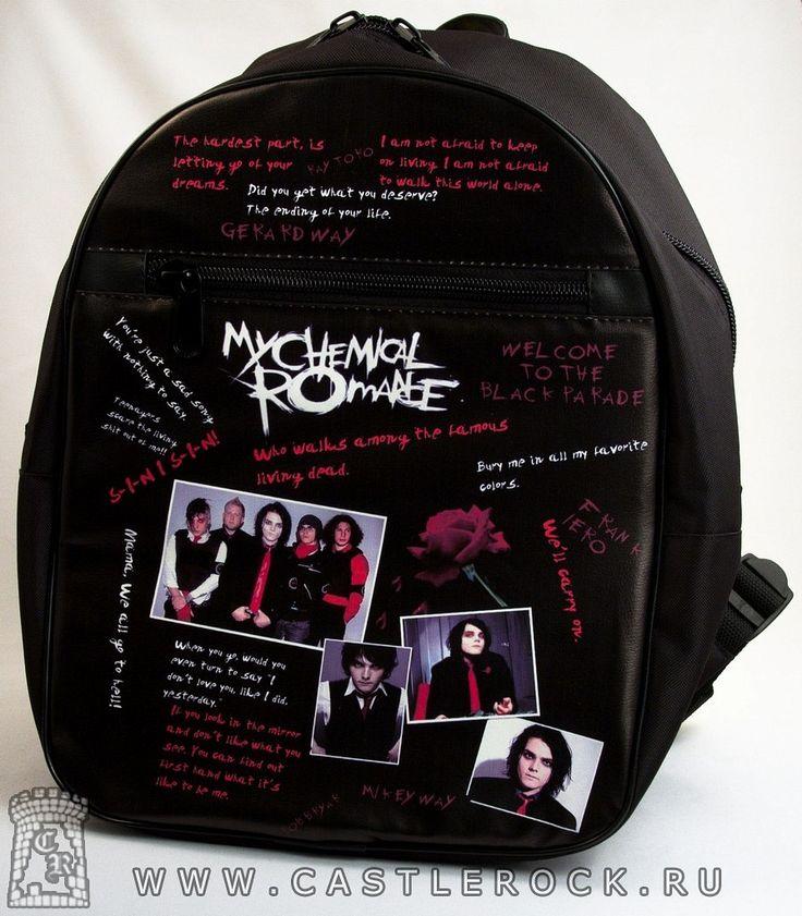 Рюкзак My Chemical Romance (коллаж)