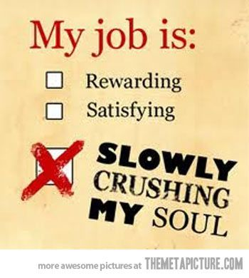 My job is…