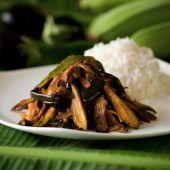 Eggplant & Green Banana Curry