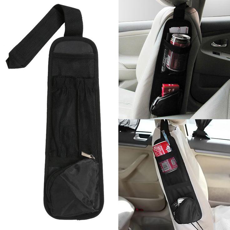 Coche Colgando Bolsa de Almacenamiento de Bolsa Organizador Del Coche Del Vehículo Auto Asiento Side Pocket Bolsas de Nylon Titular Misceláneas car-styling