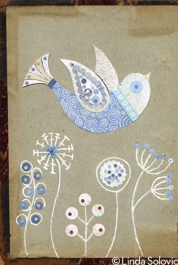 Etsy Bird Series 1 by © Linda Solovic, via Behance