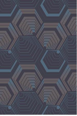 WGSN - hexagonal repeat - linear performance AW13/14