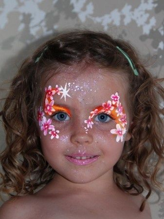 Bold and Bright Flower Mask