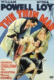 The Thin Man (1934). Love the chemistry between William Powell & Myrna Loy.