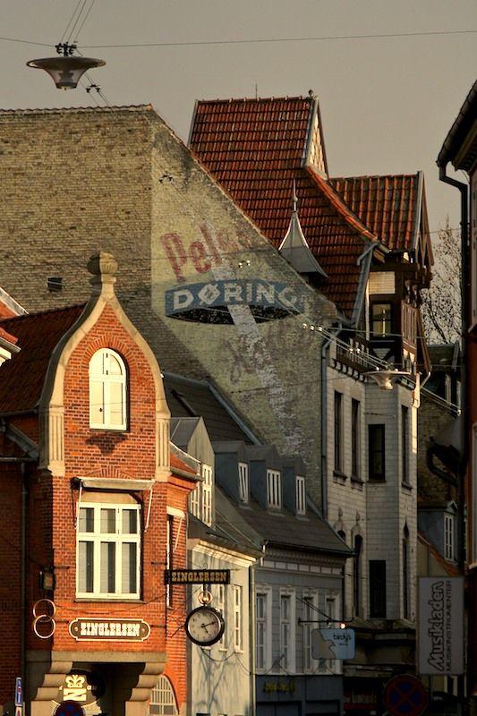 Odense, Denmark, Old town at dawn, Copyright: David Singer