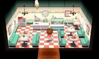 Room inspiration: Mint's ice cream shop