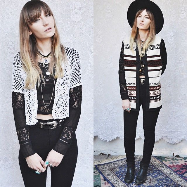 Crochet crop and aztec waistcoat online now  http://www.waiste.co.uk/products/born-wild-waistcoat (at NEW IN NOW! )