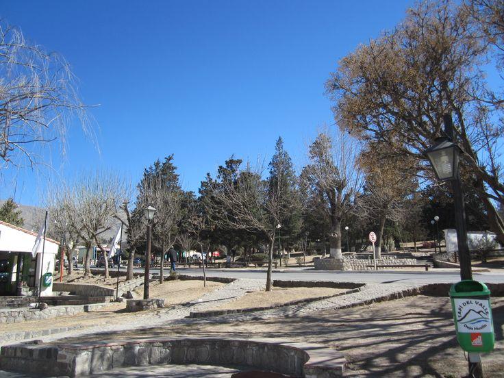 Plaza Ángel Miguel Estévez, principal de Tafí del Valle