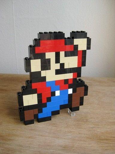 Benutzerdefinierte Kit: Mario springen von TheBrickDoctor auf Etsy