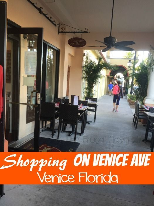 Enjoying the weather and Shopping on Venice Ave - Enjoy the great Florida weather by shopping Venice Ave, she why!