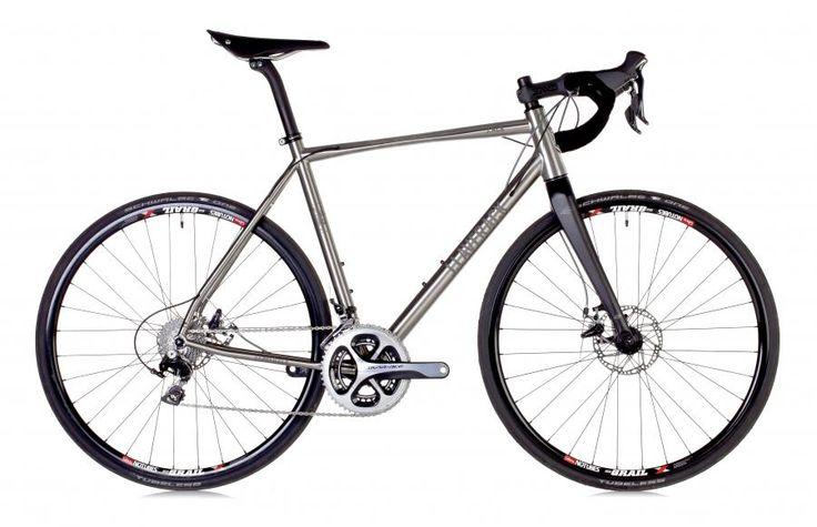 J.Laverack launches disc-equipped all-road titanium road bike + video   road.cc