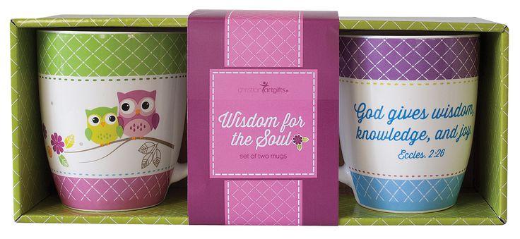 Inspirational Mug Set Wisdom