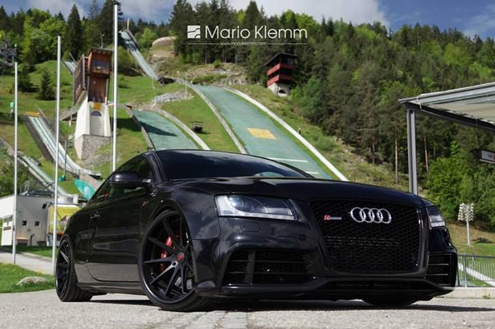 black audi rs5 body kit cars pinterest photos audi. Black Bedroom Furniture Sets. Home Design Ideas