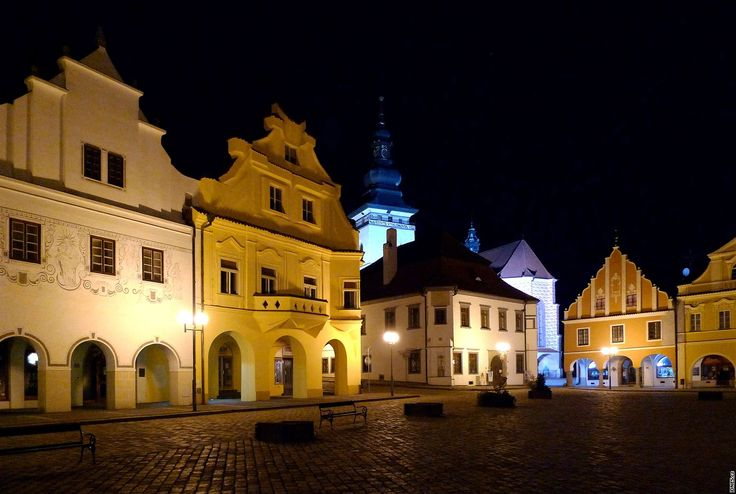 "Pelhřimov (German: Pilgrams) is a town located approximately half-way between Prague and Brno. It is known as ""the Gateway to the Highlands"" because of its location in the westernmost tip of the Bohemian-Moravian Highlands. - Czech Republic"