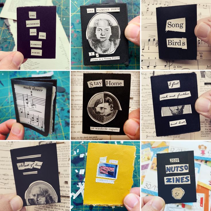 I made 30 zines in the first four weeks of our quarantine