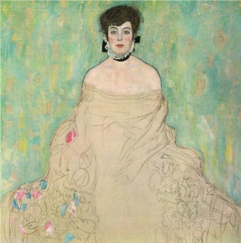 Amalie Zuckerkandl - Gustav Klimt