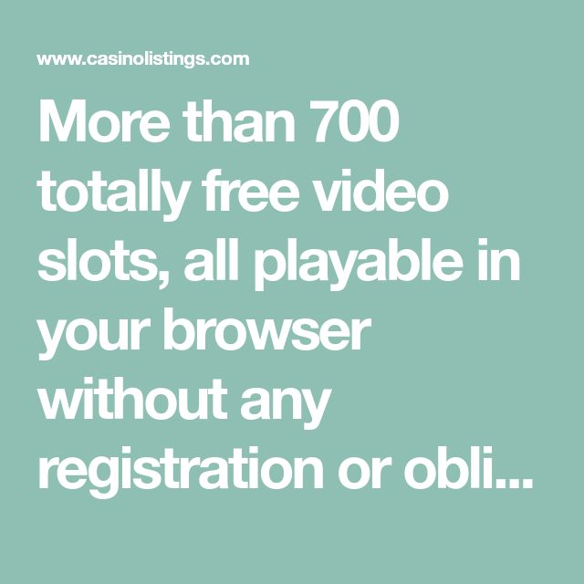 Free Slots Without Internet