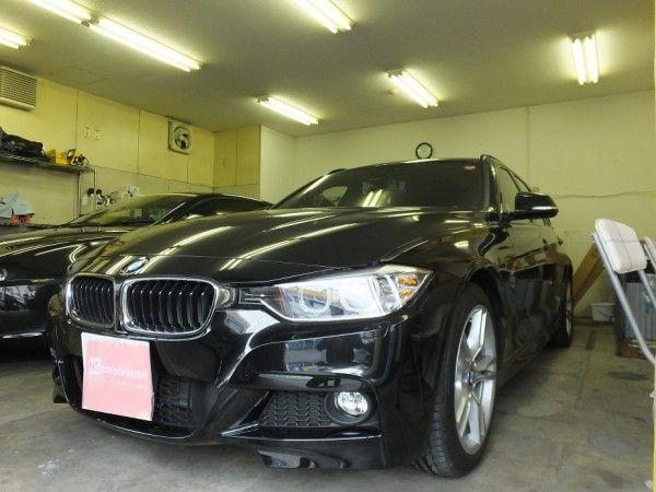 BMW 3シリーズ (F30 / F31) 99%UVカット ルミクールSD カーフィルム 施工