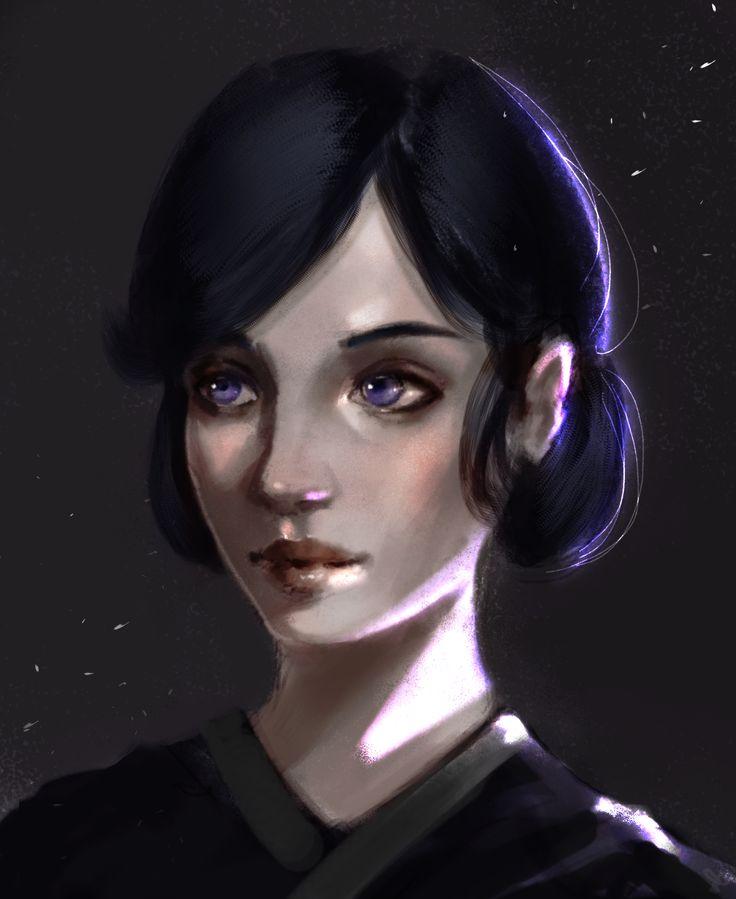 Entry 2.  'Violetta' by Jaki Martinez