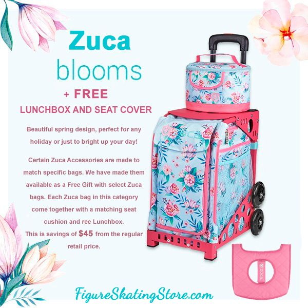 9825cd38df97 Zuca Sport Bag - Blooms with Free Lunchbox and Seat Cover #zuca ...