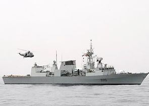 Our affiliated unit is Her Majesty's Canadian Ship Calgary, a Royal Canadian Navy Canadian Patrol Frigate.