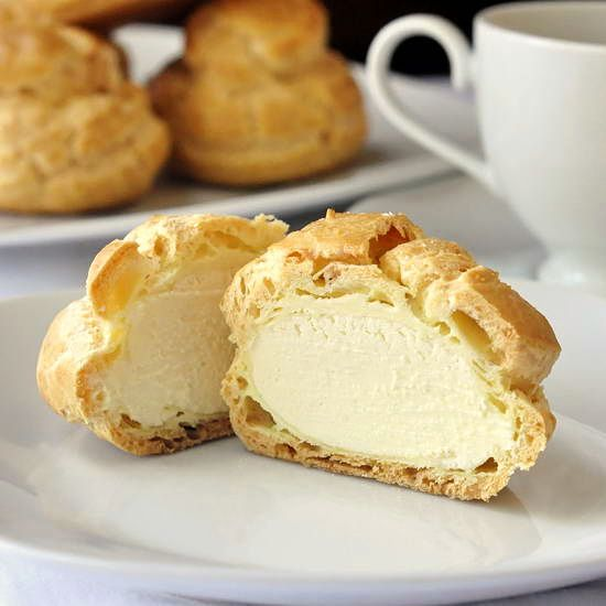Frozen White Chocolate Cream Puffs - Rock Recipes -The Best Food & Photos from my St. John's, Newfoundland Kitchen.