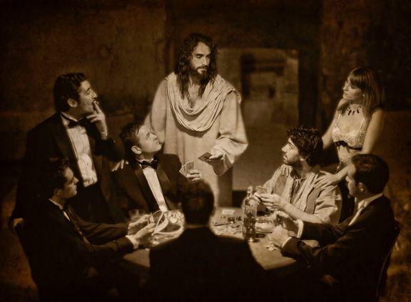 The Winning Hand- Unique Christian Artwork   Remarkable Jesus Artwork