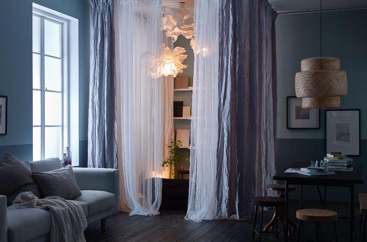 56 best le salon ikea images on pinterest - Deco salon ikea ...