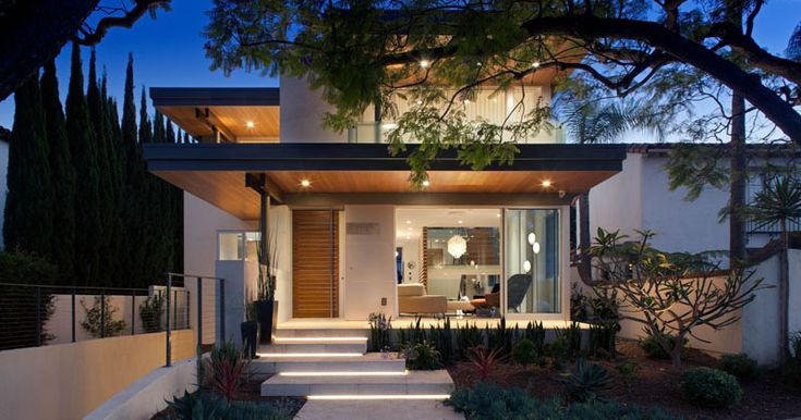 This New House In California Presents A Welcoming Face To The Street | CONTEMPORIST  #InteriorDesign