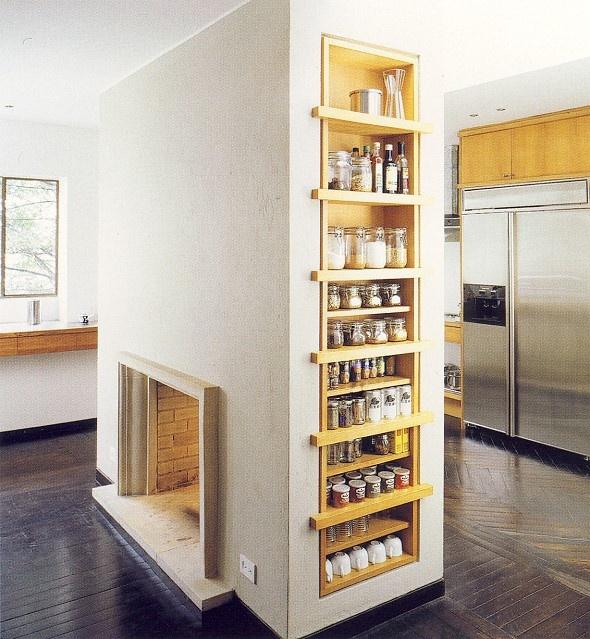 eine geniale idee um den kamin gewinnbringend in szene zu setzen und keinen platz unn tig zu. Black Bedroom Furniture Sets. Home Design Ideas