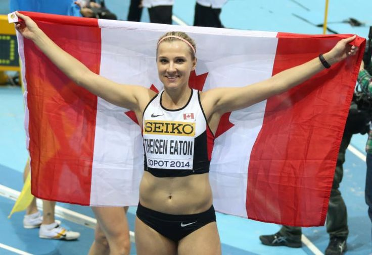 RunnersWeb  Athletics: Brianne Theisen-Eaton wins World Indoors Silver