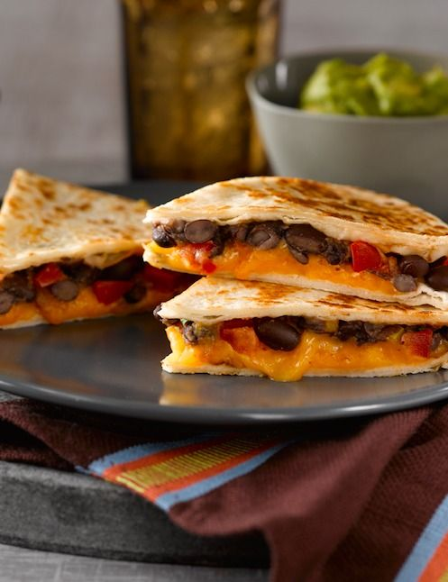 Black Bean Quesadillas Recipe Food Recipes Food