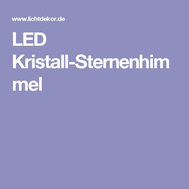 Good LED Kristall Sternenhimmel
