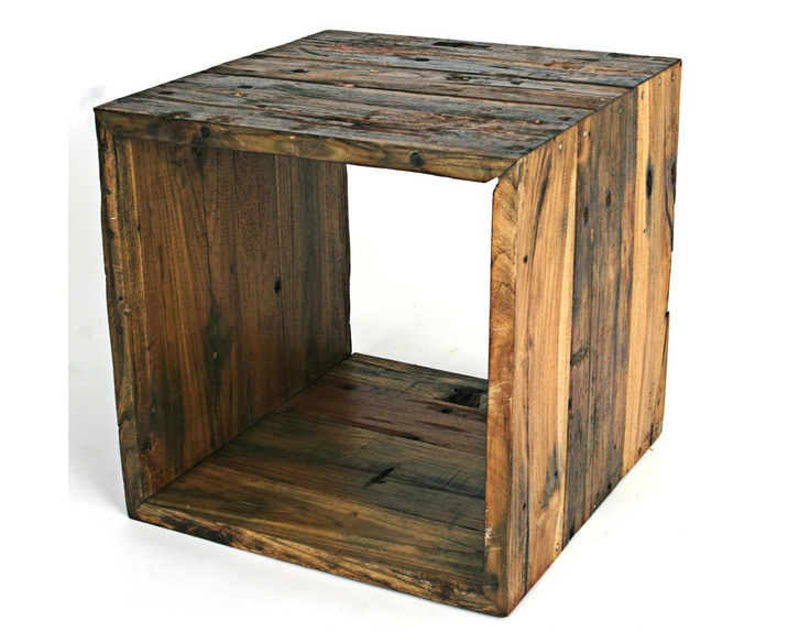 Stackable Storage Cube So Many Uses For Pallets Cube