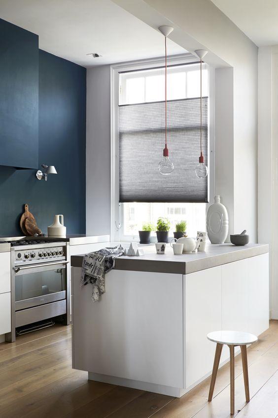 25 beste idee n over blauwe slaapkamer muren op pinterest blauwe slaapkamers blauwe - Kleur idee entreehal ...