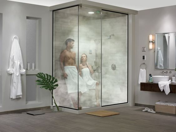 """La popularidad de crear de un """" spa en casa"""" mediante la instalación de un baño de vapor sigue creciendo, a medida que más y más personas invierten en la transformación de su baño principal en un l…"""