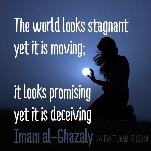 Imam al-Ghazali quote