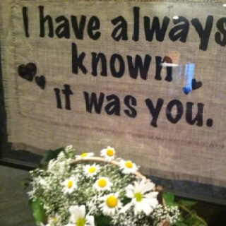 18 best wedding quotes images on pinterest wedding inspiration favorite quotes for wedding decor black fabric letters fused onto burlap junglespirit Choice Image