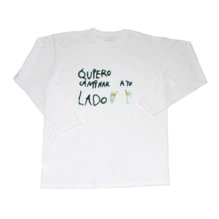 "Un camiseta hecha con mucho amor.... ""Pies mini paco"""