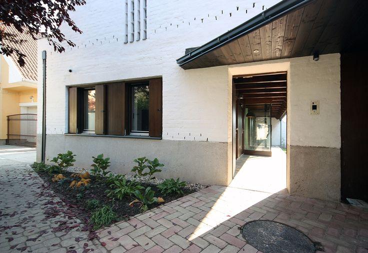 képek: Hagyomány és modernitás: lakóház Szolnokon