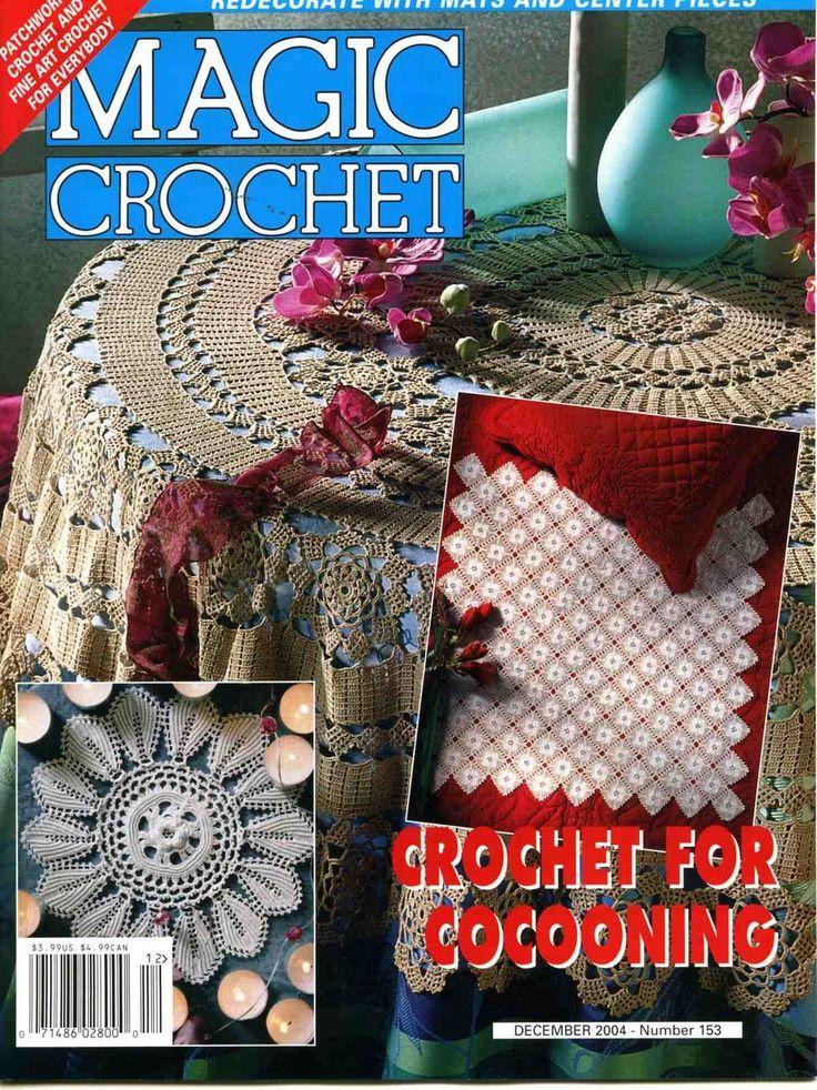 Magic Crochet No. 153 ~ Free Crochet Patterns