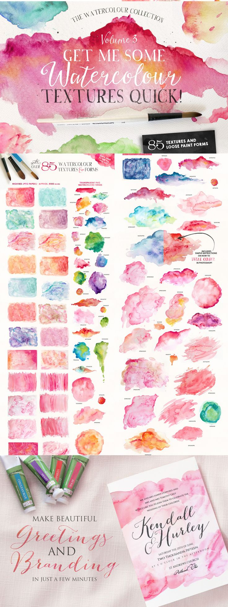 The Ultimate Designer's Collection #watercolor