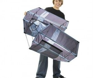 Tie Fighter Kite ($14.99) : Have your own Star Wars style space war at your local park or beach with your very own Tie Fighter Kite!