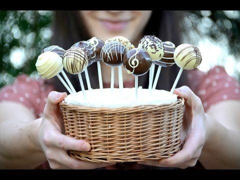 Perfect Cake Pop Coating & Dipping   Cake Decorating Tutorial with Kris Galicia-Brown - YouTube