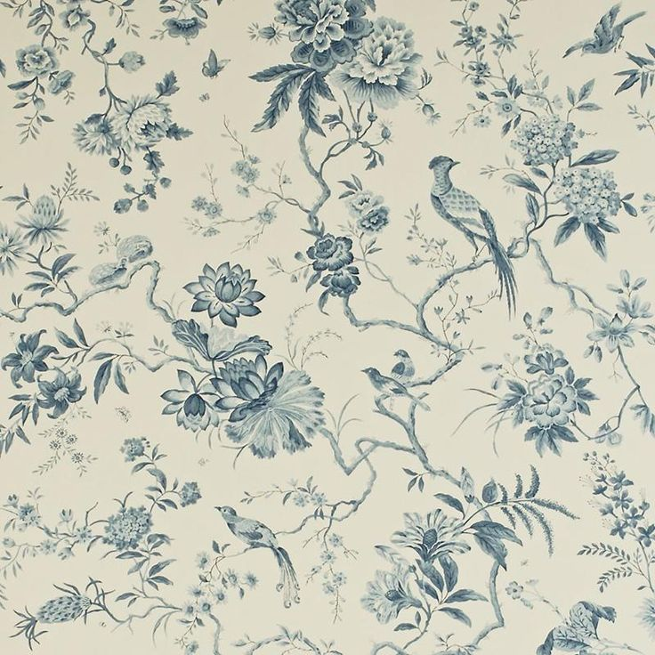 Sanderson Wallpaper Pemberley Pillemont Toile Collection DPEMPI101