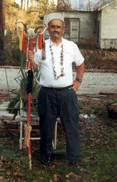 Peter M. Cousin, Jr.; All Saints' Day Traditions; http://louisianafolklife.nsula.edu/artist-biographies/profiles/62