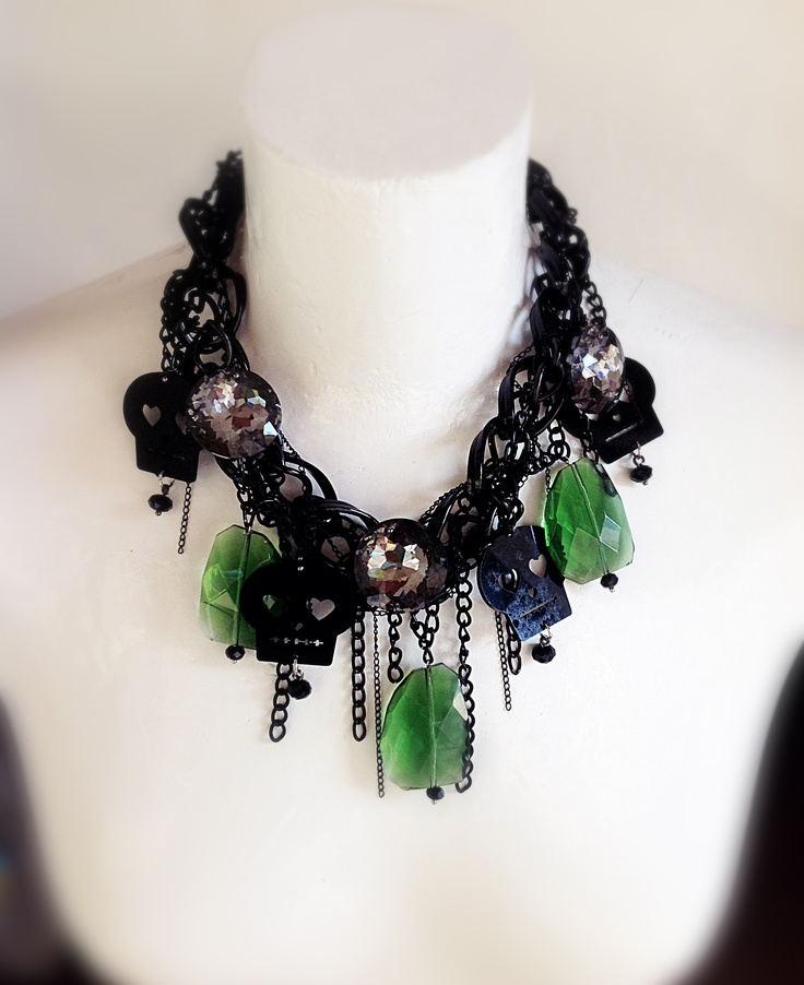 [Dart creations] rock style necklace