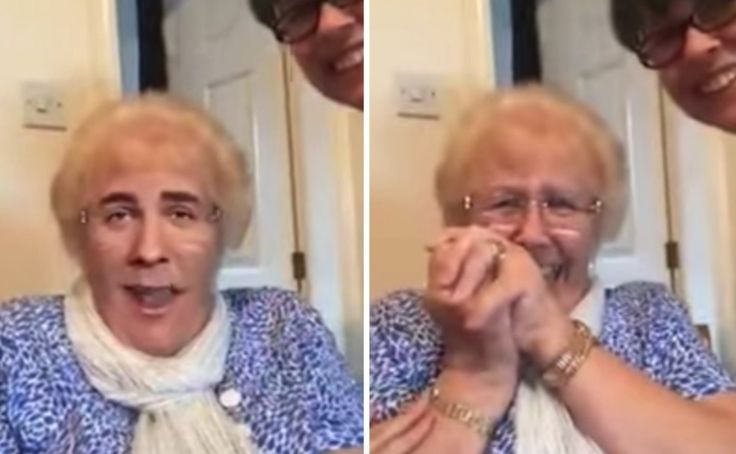 Grandma's Hysterical Reaction To Face Swap App Is Bad News For Beyonce. - http://www.lifebuzz.com/faceswap/